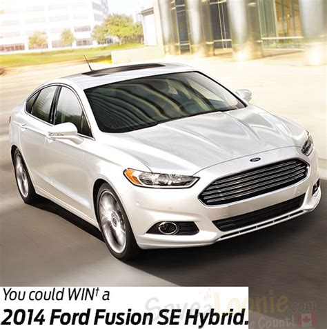 Costco Facebook Giveaway - costco ford fusion hybrid giveaway