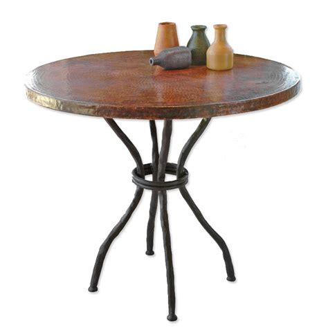 bistro table top only woodland iron bistro table base fits 36 quot tops