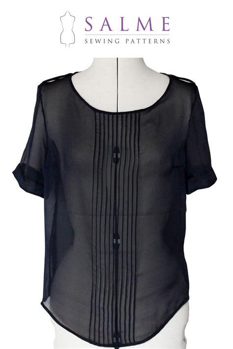 pattern blouses sewing pattern blouse peach chevron blouse