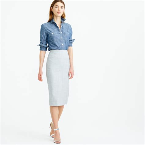 how to wear a pencil skirt acetshirt