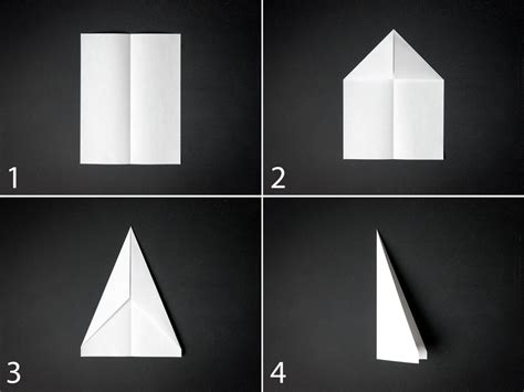 Make A Simple Paper Airplane - how to make a paper airplane diy network made