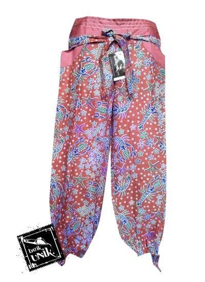 Celana Aladin Panjang celana batik aladin panjang motif batik modern bawahan rok murah batikunik