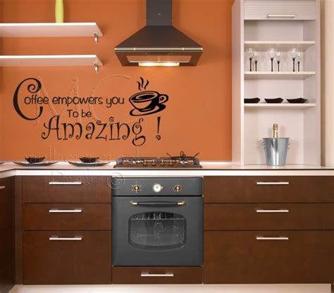 kitchen quotes wall decals interior decorating