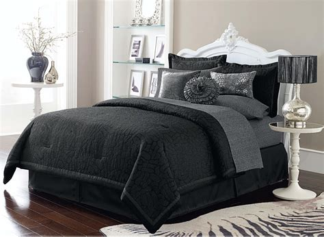 Black Comforter Set by 10pc Comforter Set Sofia Home Bed Bath Bedding