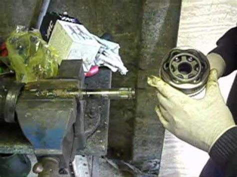 honda civic cv joint removal from start to finish youtube