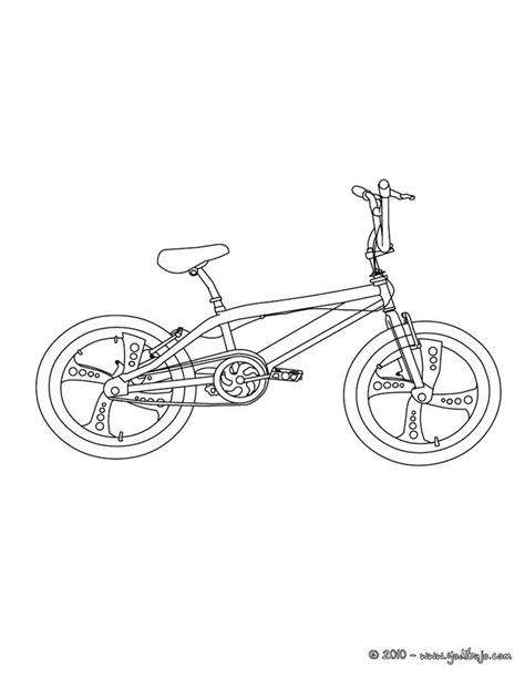 imagenes de bicicletas faciles para dibujar dibujos para colorear un bmx de competici 243 n es hellokids com