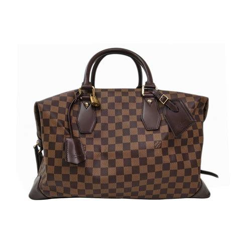 Lv Manohara Damier 1set louis vuitton damier canvas ebene vaslav top handle duffle travel shoulder bag at 1stdibs