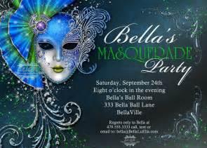 masquerade invitation mardi gras invitations
