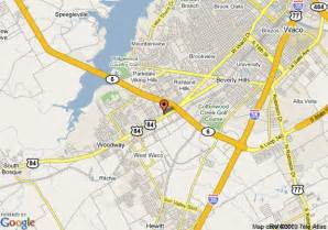 map of 8 waco mall area woodway
