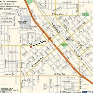 map of madera california madera county radio club w6wgz w6wgz org mcarc