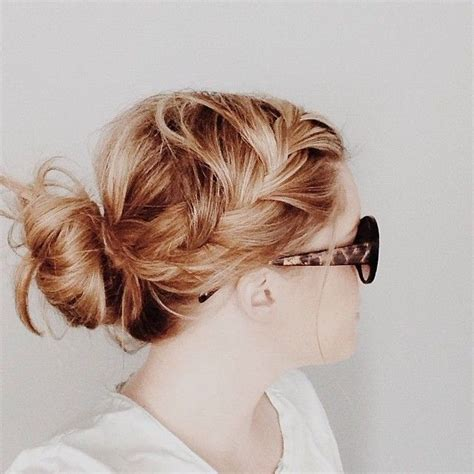 hairstyles everyday 10 trendy messy braid bun updos popular haircuts