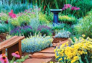 landscaping with cool colors