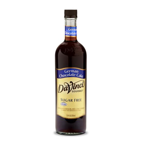 Davinci Syrup Murah Meriah 1 davinci sugar free syrup german chocolate cake 25 4 fl oz bottle low carb canada