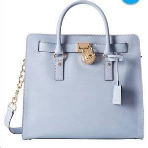 light blue michael kors bag michael kors light blue handbag on poshmark
