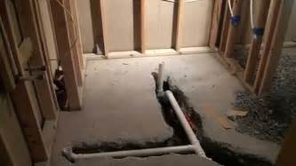 basement bathroom construction ideas youtube pretty design large with toilet also white