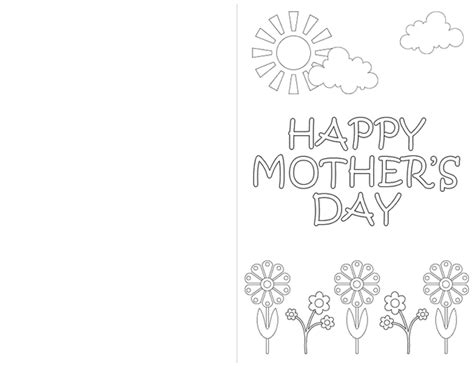 printable mothers day cards to color redirecting to http www sheknows parenting slideshow