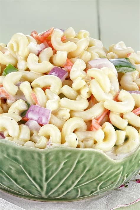 classic pasta salad classic mac salad recipes dishmaps