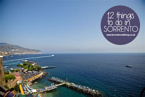 what to do at 12 things to do in sorrento a compass