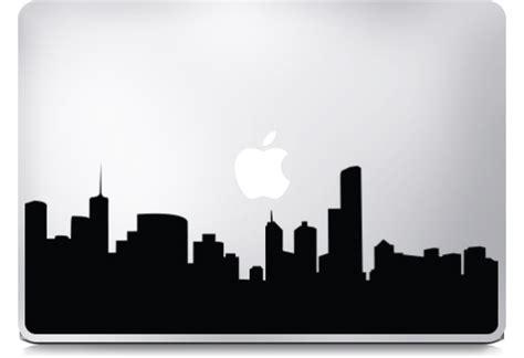 Decal Sticker Macbook City Katze Decal city skyline macbook stickers