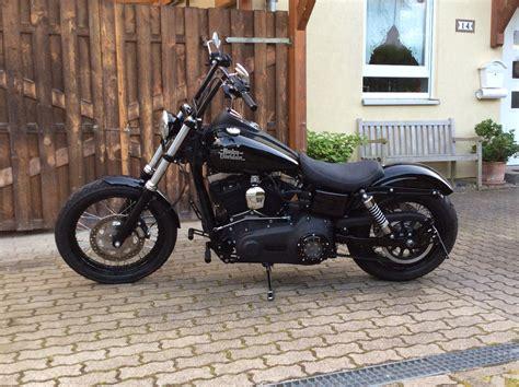 Harley Street Bob Tieferlegung by Fxdb Street Bob Street Bob Rear Fender Tieferlegen S 1