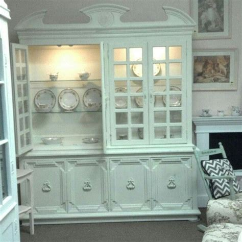 custom made country painted shabby chic dining room
