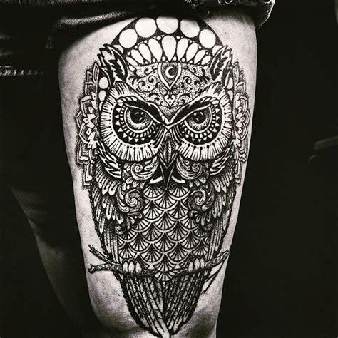 tattoo mandala owl 76 brilliant mandala tattoos you wish to have mens craze