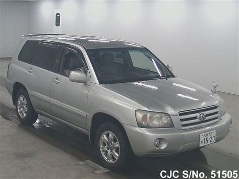 Toyota Kluger Used For Sale 2003 Toyota Kluger Silver For Sale Stock No 51505