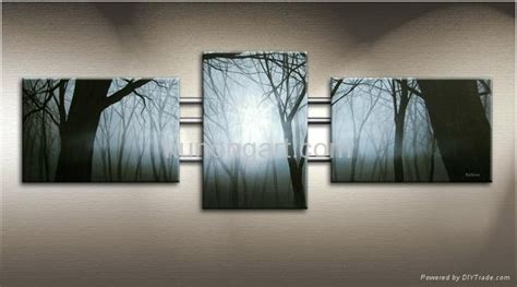 Room Decoration Crafts - wall art modern gift oil paintings on canvas with stretched frame kla3 0071 kunlong china