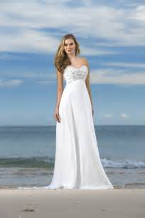 Strapless beach wedding dresses exotic and sexy beach dress style