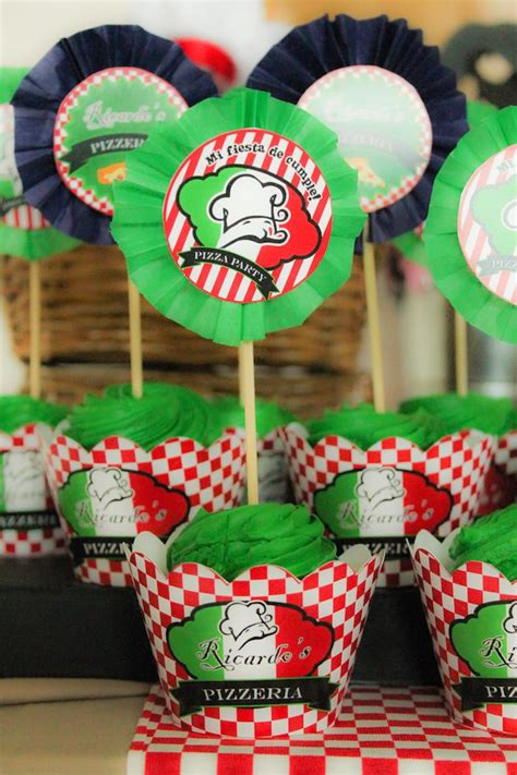 italian decorations for a themed kara s ideas italian pizzeria birthday kara