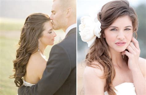 bridal hairstyles down to the side beautiful wedding hairstyles down to the side elite