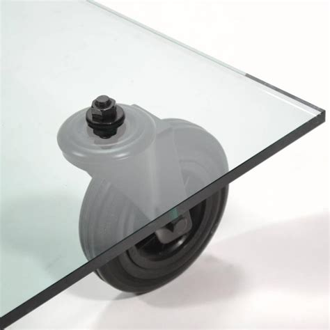 gae aulenti coffee table gae aulenti quot tavolo con ruote quot coffee table by fontana