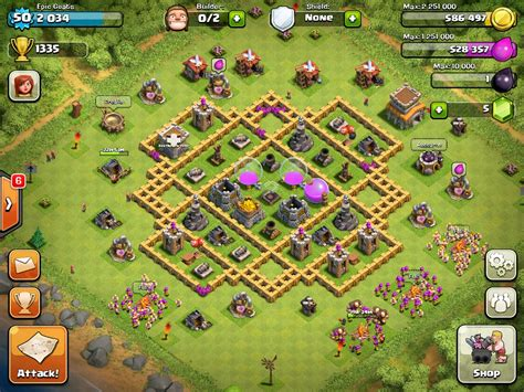 Coc Clash Of Clams 27 Tx image epic goat s base jpg clash of clans wiki fandom powered by wikia