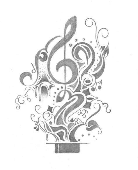 music tattoo designs tumblr 20 best amazingly awesome drawings images on