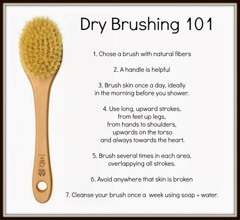 How To Skin Brush For Detox by Skin Brushing Any Questions Comment Below And