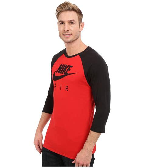 Raglan Nike Air Harmony Merch nike air 3 4 raglan in for lyst