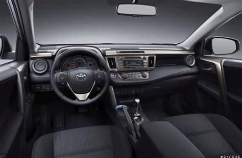 2014 Toyota Rav4 Interior 2014 toyota rav4 leak interior egmcartech