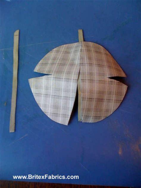 fabric yarmulke pattern no sew leather kippah or yamulkah 8
