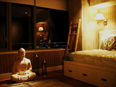 buddha bedroom hennessy lighting design