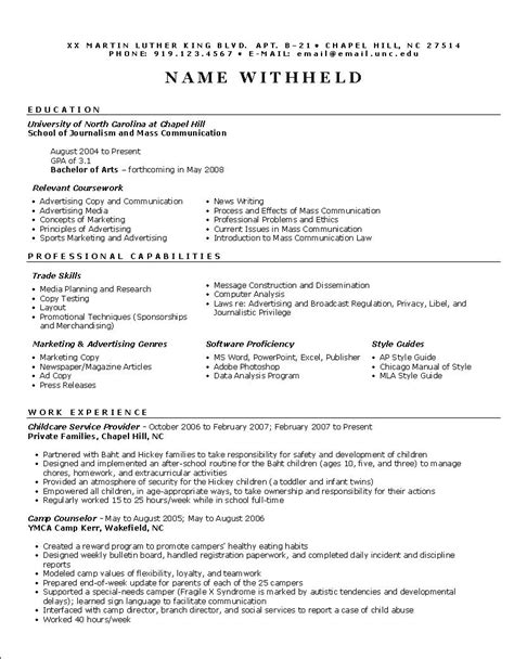 Resume Templates Functional by Functional Resume Sles Functional Resume Exle Resume Format Help Career Tips