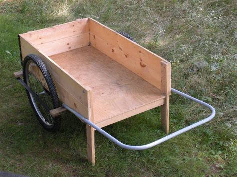 Diy Garden Cart by The Garden Cart Maine Cycle Carts