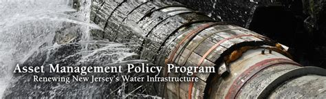 New Jersey Asset Search Njdep Asset Management Policy Program