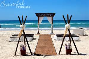 simple beach weddings