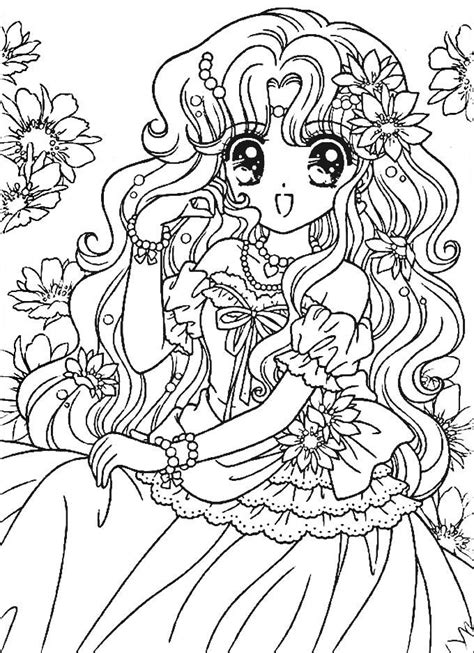 color book 1824 best anime coloring pages images on