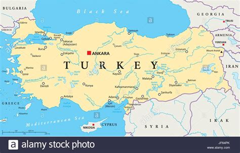 turkey on the map turkey map world grahamdennis me