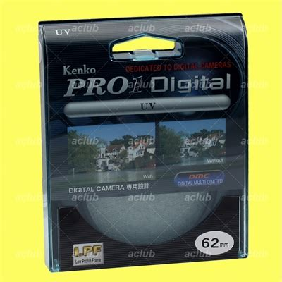 Krinsmarts Filter Uv Kenko Pro1 58mm genuine kenko 62mm pro1 digital uv filter pro 1d pro1 d multi coated dmc