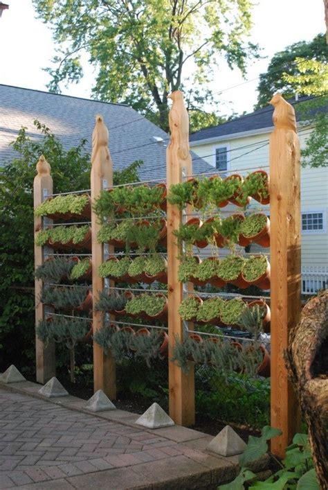 Vertical Garden On Fence Best 25 Fence Garden Ideas On Garden Fences
