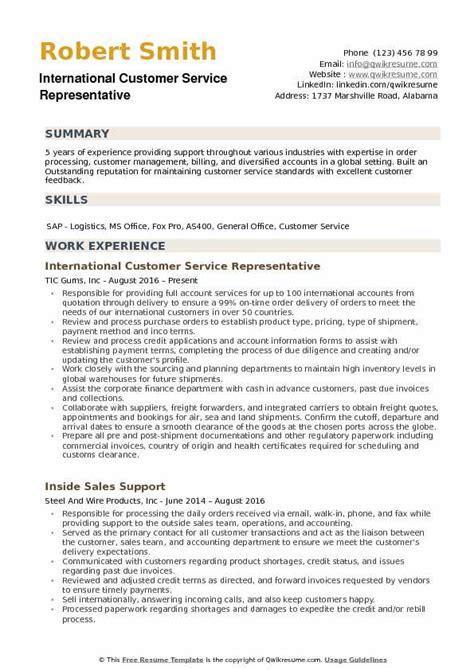 bank great bank customer service representative resume sample free