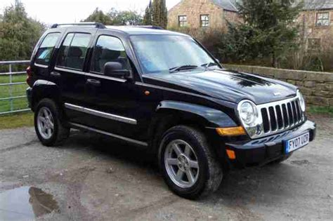 jeep wagon black jeep black 2 8 crd auto limited 4x4 leather