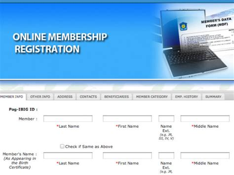 pag ibig online registration pag ibig fund launches online registration for new members